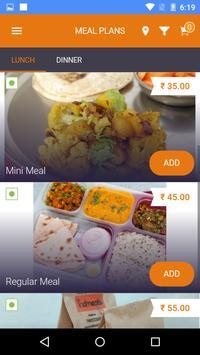 Fooddialer screenshot 1
