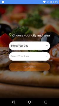 Fooddialer screenshot 2