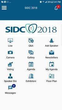 Saudi International Dental Society 2018 screenshot 2