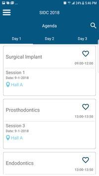 Saudi International Dental Society 2018 screenshot 4