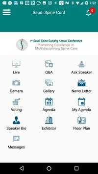 1st Society Spine Annual Conference apk screenshot