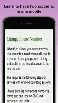 Tips for whatsapp apk screenshot