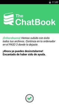 The ChatBook apk screenshot