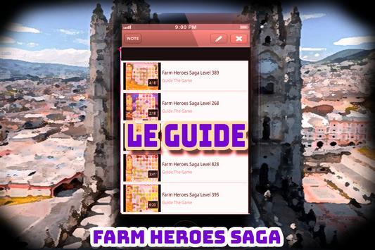 Guide pour Farm Heroes Saga screenshot 1