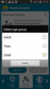 Optus Mobile Security screenshot 3