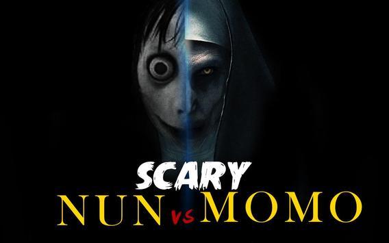 Scary Nun vs Momo - Horror Game poster