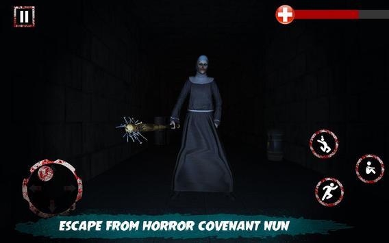 Scary Nun vs Momo - Horror Game screenshot 11