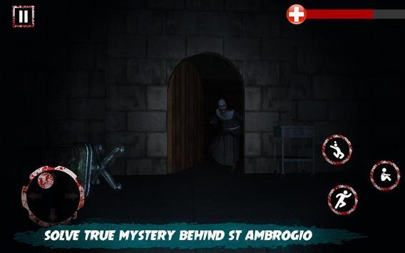 Scary Nun vs Momo - Horror Game screenshot 1