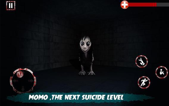Scary Nun vs Momo - Horror Game screenshot 2
