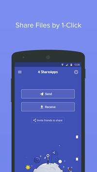4 Share Apps - File Transfer poster
