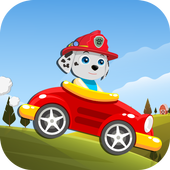 Paw Puppy Hill Climb Racing icon