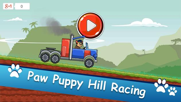 Paw Puppy Hill Climb Racing poster