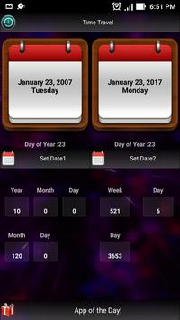 Time Travel : Date Calculator poster