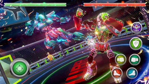 ... Real Robot Ring Fighting 2017 apk screenshot ...