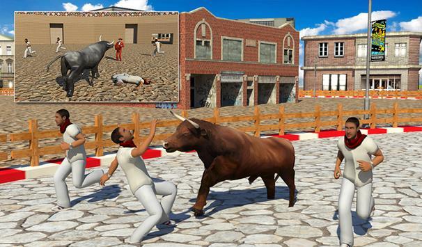 Angry Bull Attack 2017 screenshot 11