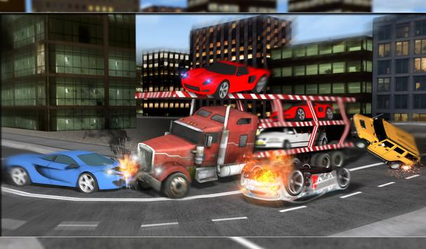 Car Transporter Furious Truck apk screenshot