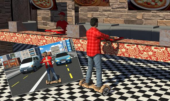 Hoverboard Pizza Delivery Sim apk screenshot