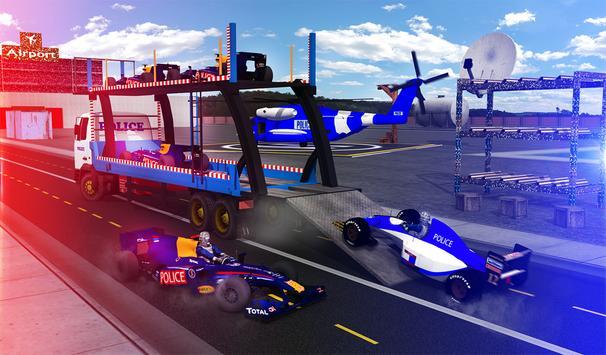 Police Airplane Transport Bike screenshot 14