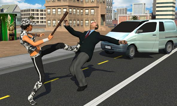 San Andreas woman Gangster apk screenshot