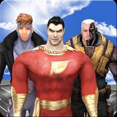 Superhero Defend City icon