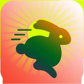 Evolution Rabbit Run - Run to The Jungle Temple 2 icon