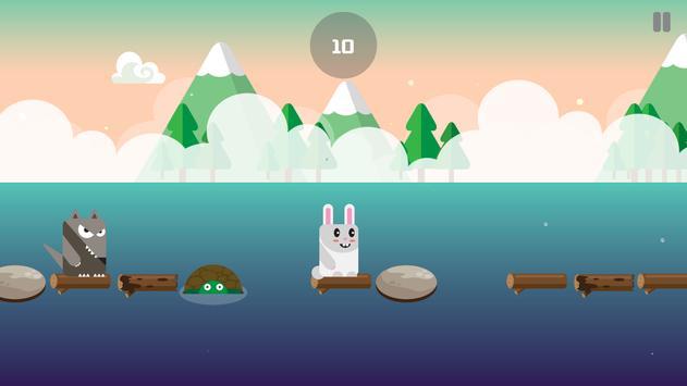 Evolution Rabbit Run - Run to The Jungle Temple 2 screenshot 11