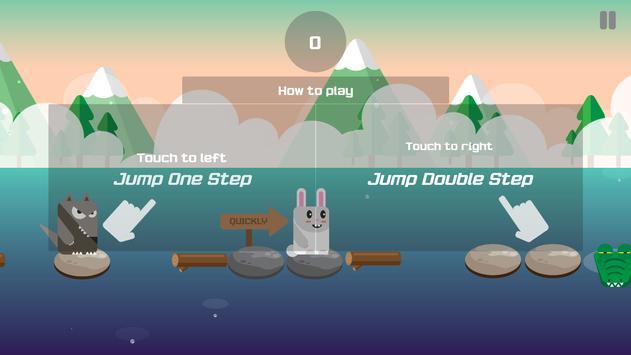 Evolution Rabbit Run - Run to The Jungle Temple 2 screenshot 1