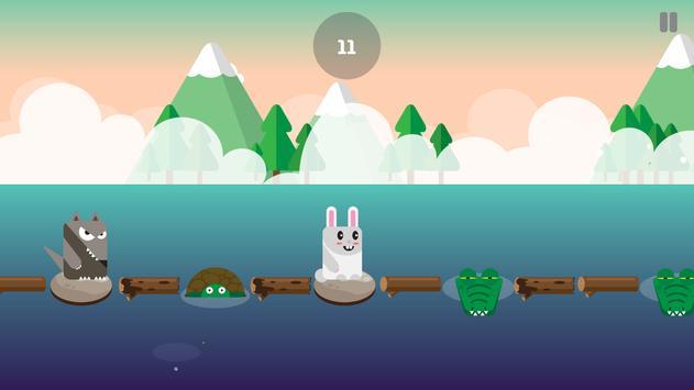 Evolution Rabbit Run - Run to The Jungle Temple 2 screenshot 2