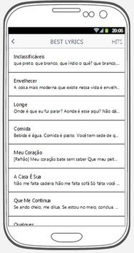 Arnaldo Antunes best songs & lyrics. screenshot 2