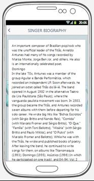 Arnaldo Antunes best songs & lyrics. screenshot 3