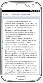 Gonzaguinha best songs & lyrics. screenshot 1