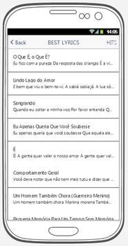 Gonzaguinha best songs & lyrics. screenshot 2