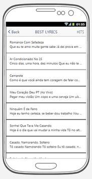 Wesley Safadão best songs & lyrics. screenshot 1