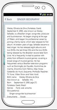 Wesley Safadão best songs & lyrics. screenshot 2