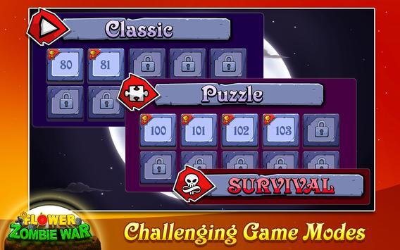 Flower Zombie War screenshot 4