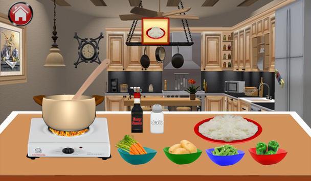 Elsa's Cooking Class apk screenshot