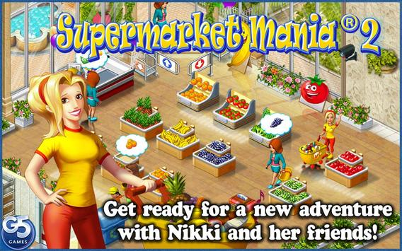 Supermarket Mania® 2 poster