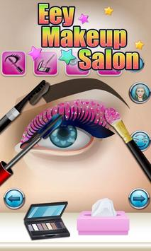 Eyes Makeup Salon - kids games apk screenshot