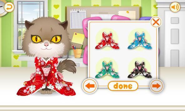Kitty Dress Up-kids games screenshot 1