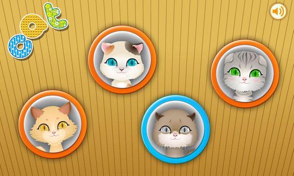 Kitty Dress Up-kids games screenshot 2