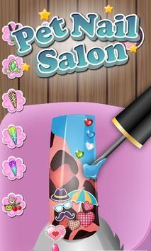 Pets Nail Salon - kids games screenshot 1