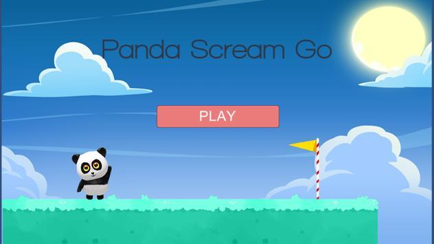 Panda Scream Go poster