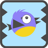 Freaky Flappy Jumping Bird icon