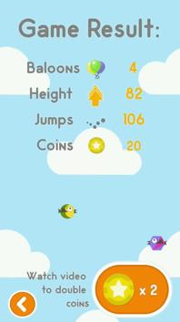Freaky Flappy Jumping Bird screenshot 8