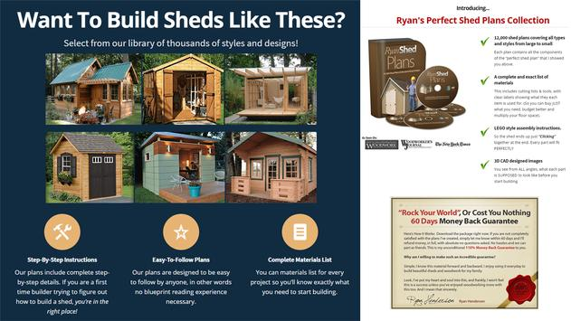Ryan Shed Plans apk screenshot