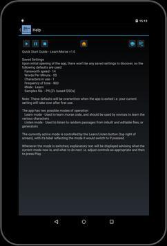Learn Morse screenshot 8