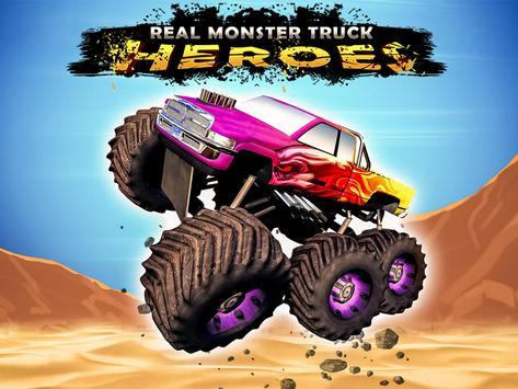 Real Monster Truck Heroes apk screenshot