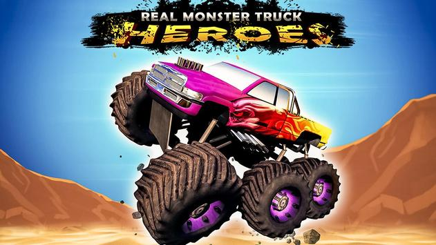 Real Monster Truck Heroes poster