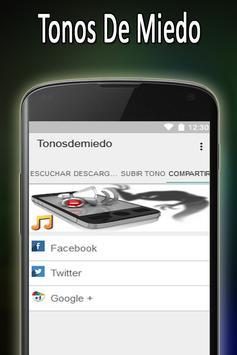Tonos De Miedo Y Terror Gratis apk screenshot