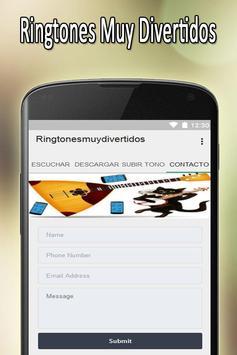 Tonos Muy Divertidos Gratis apk screenshot